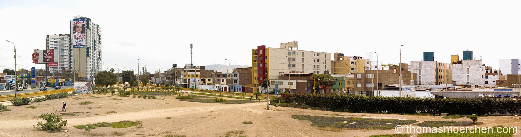 Typisches Strassenbild in Lima