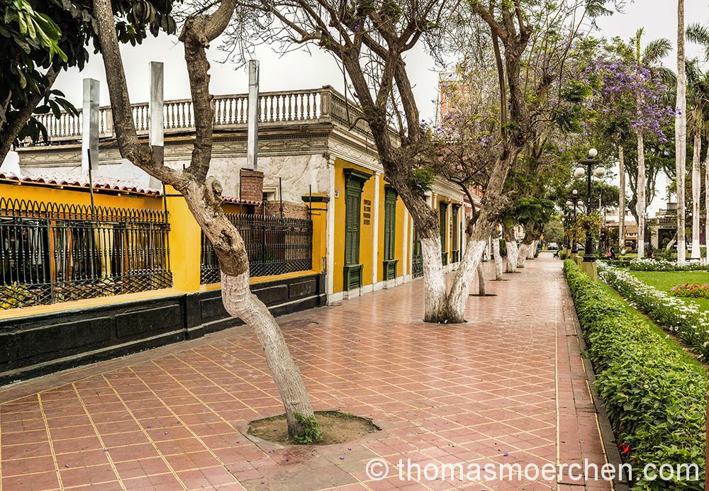 Eine der schöneren Ecken in Barranco