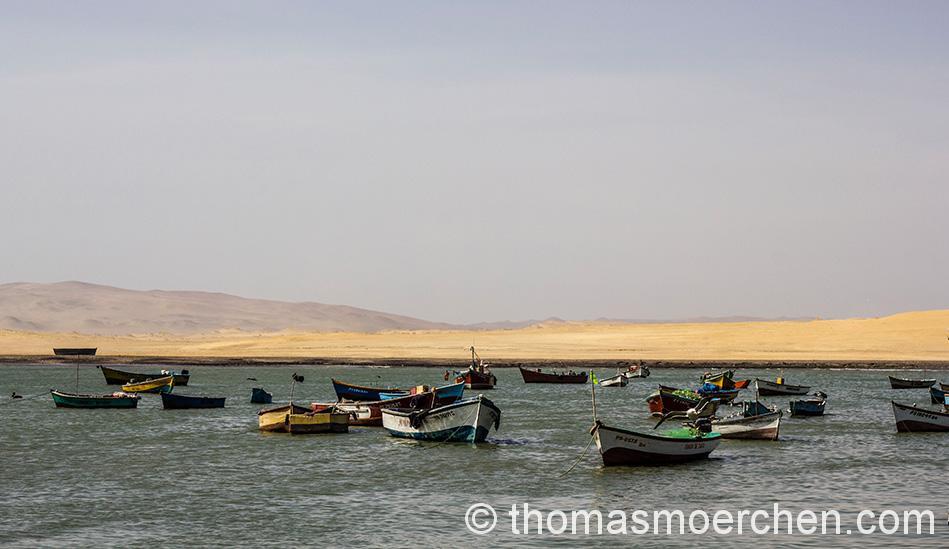Kleine Fischerbucht im Nationalpark der Halbinsel Paracas