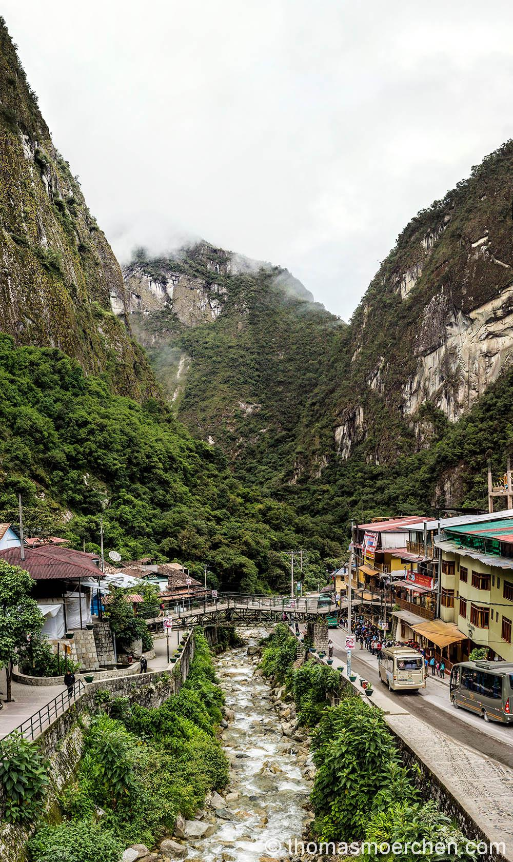 Aguas Caliente - der Startpunkt zum Machu Picchu